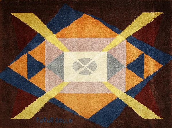 Pattern for carpet / Motivo per tappeto: Flowers + space / Fiori + spazio